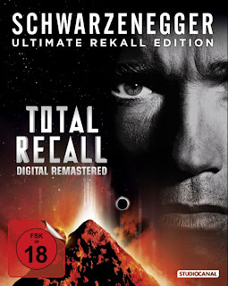 Total Recall Blu-ray Cover