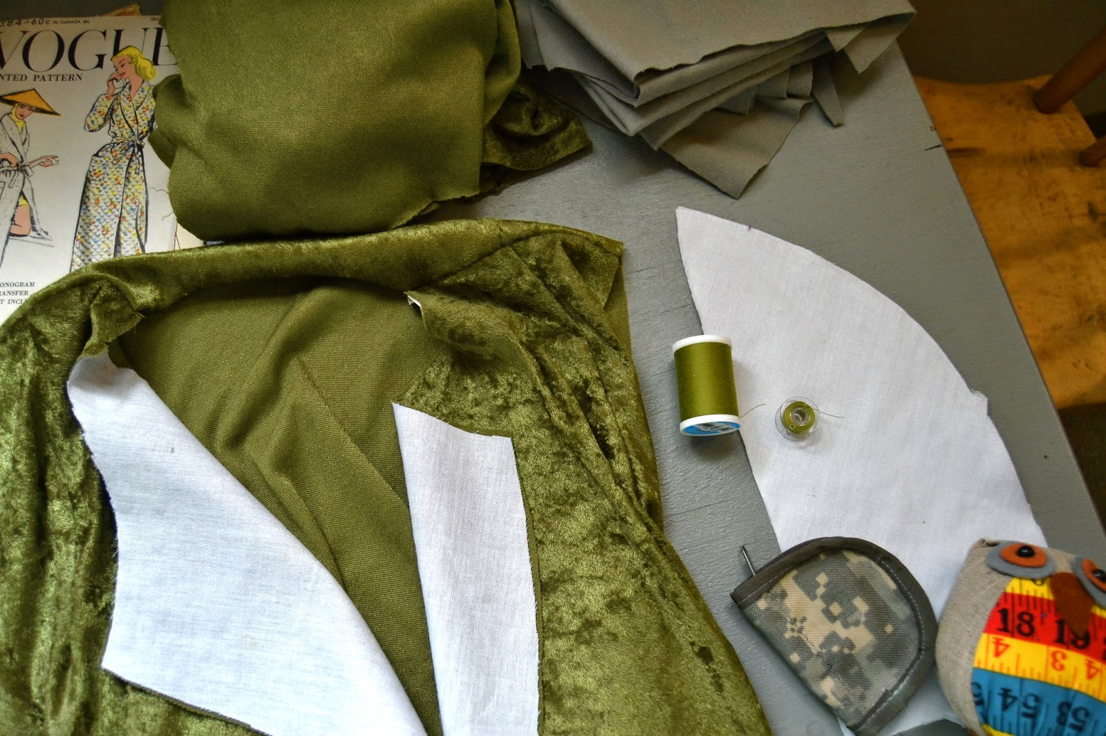 Flashback Summer: Sew for Victory 2014 Project - Vogue 9384 robe