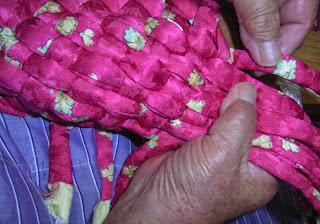こんこんぞうりの作り方 布編み 6