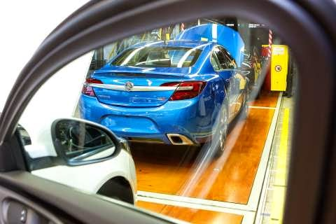 Holden Insignia VXR on the production line