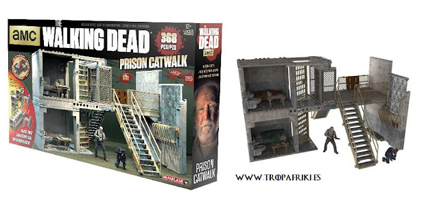 Maqueta The Walking Dead: La prisión