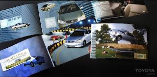 Brinde Grátis Catálogos da Toyota