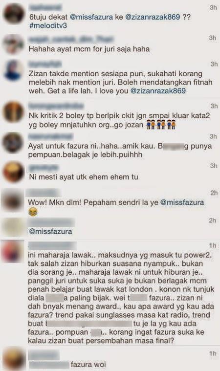 Status Amaran Zizan Razak Ditujukan Kepada Fazura?, info, terkini, hiburan, sensasi, gosip, kontroversi, zizan razak, fazura, MLM2014