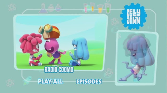 Jelly Jamm cartoon, Cartoonito, Radio Goomo DVD