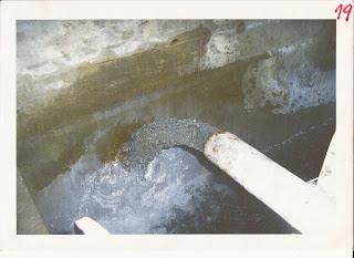 El tanque con agua contaminada de Villa Adelina