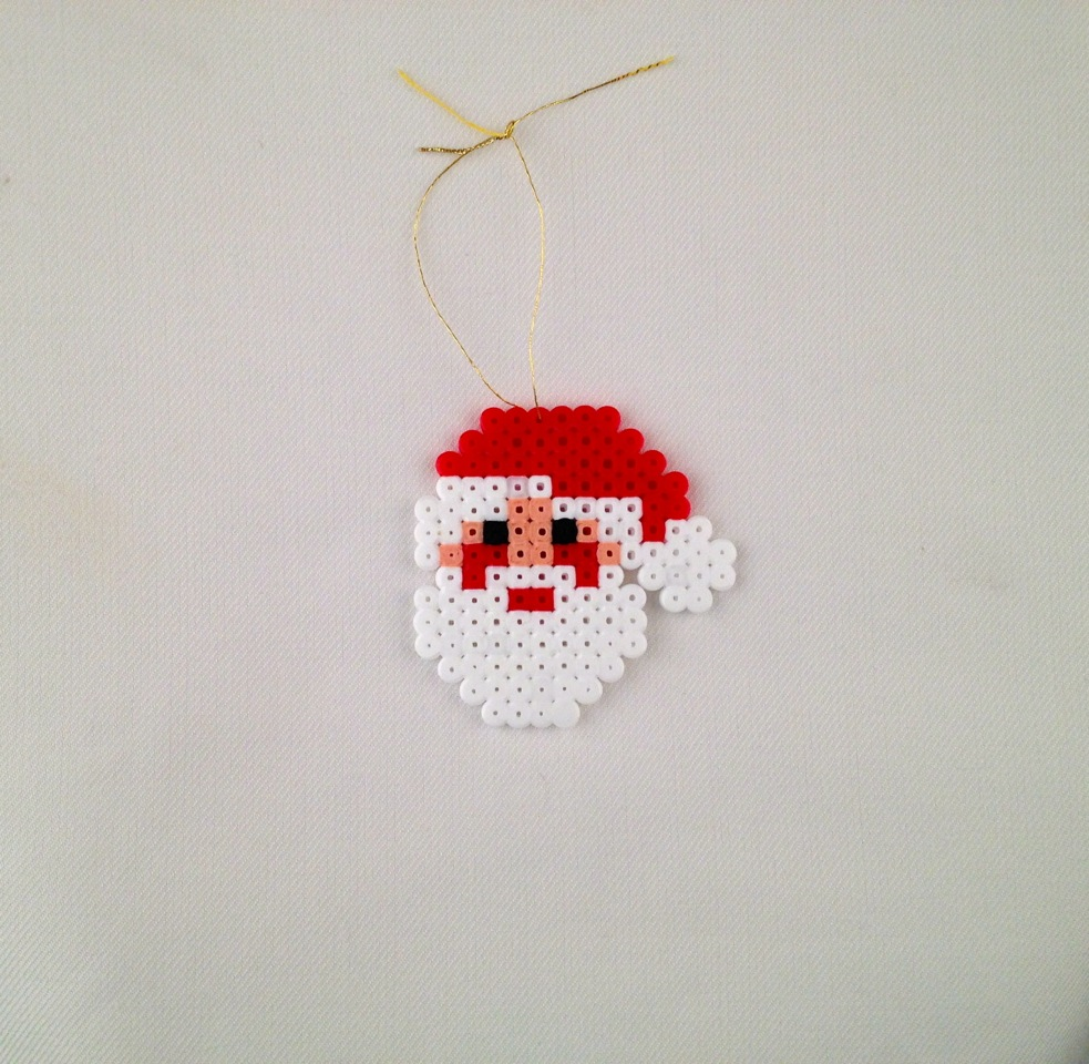 Las creaciones de diana hama beads motivos navide os - Como hacer motivos navidenos ...