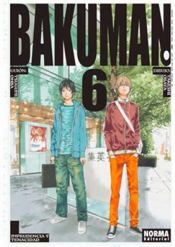 Bakuman 6,Tsugumi Ōba, Takeshi Obata,Norma Editorial  tienda de comics en México distrito federal, venta de comics en México df