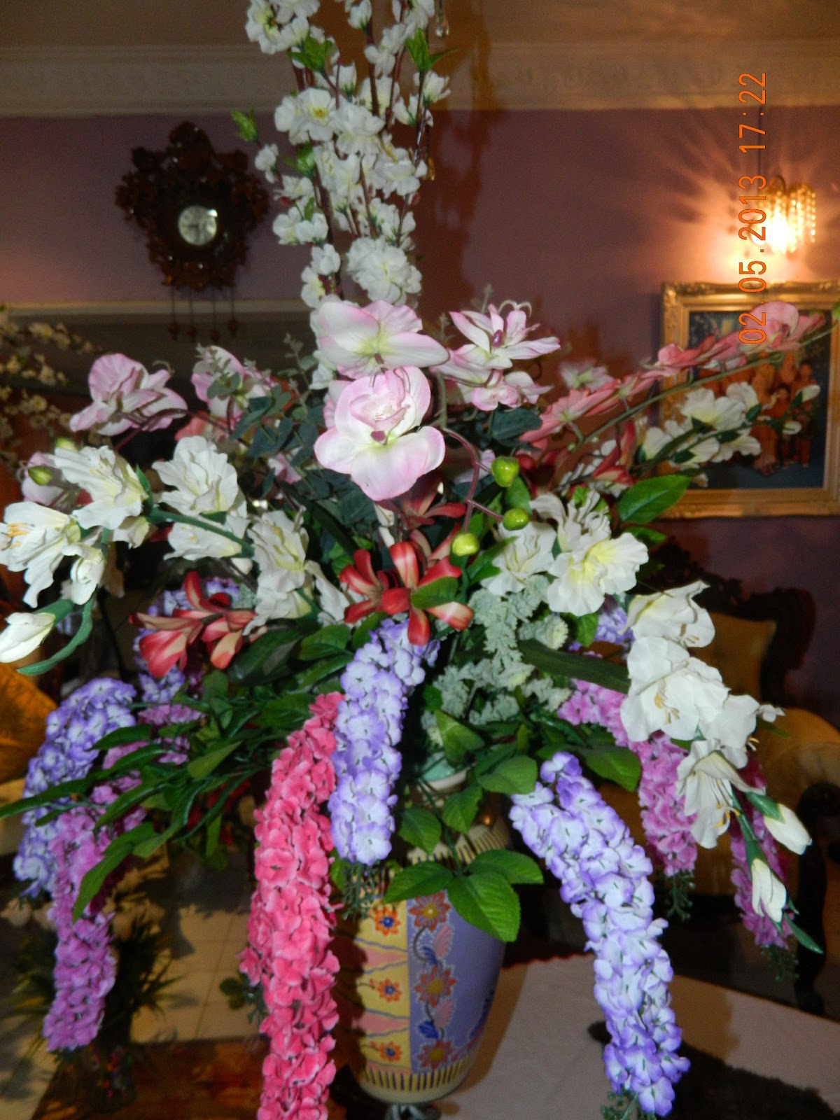 nurin's florist: GUBAHAN BUNGA (HIASAN DALAM RUMAH)
