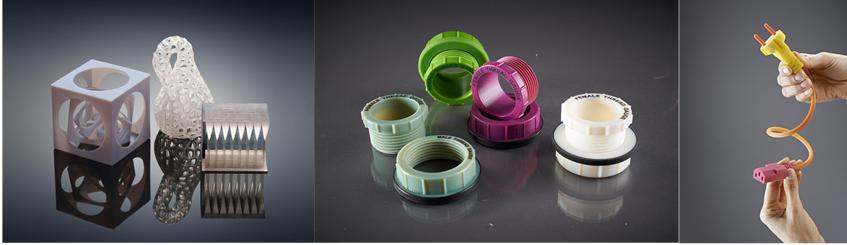 Mẫu in 3D từ vật liệu kỹ thuật số