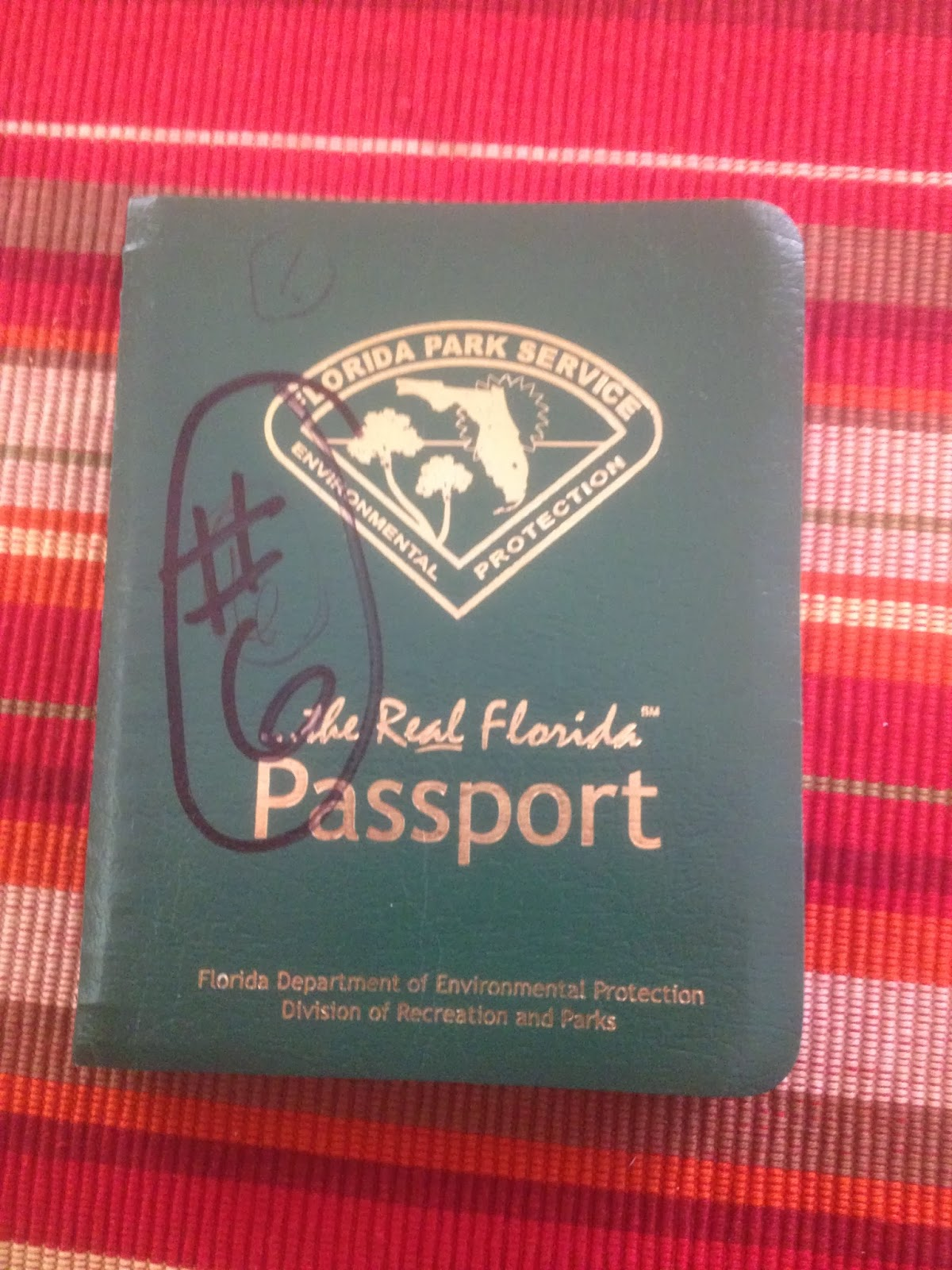 How To Obtain A Passport In Paducah, Kentucky Ending The Florida State Park  Passport Stamp
