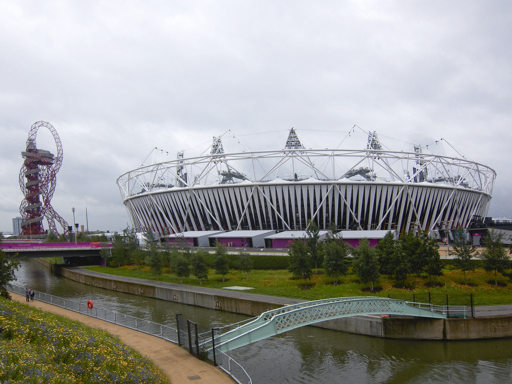 London 2012 Olympic Games Park Stadium Orbit