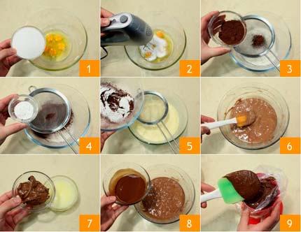 Кексы в стаканчиках