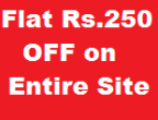 Pepperfry: Get Flat Rs. 250 OFF on Entire Site , No Min. Purchase required