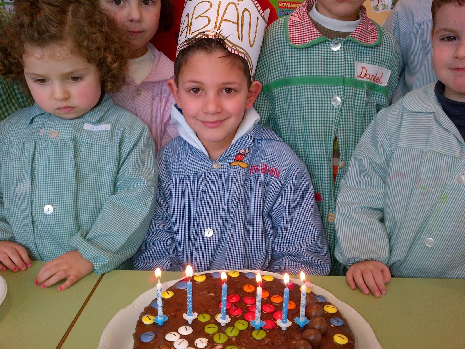 Fabián cumple 6 años