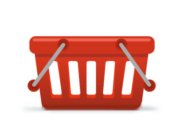 Shopping icon for website design