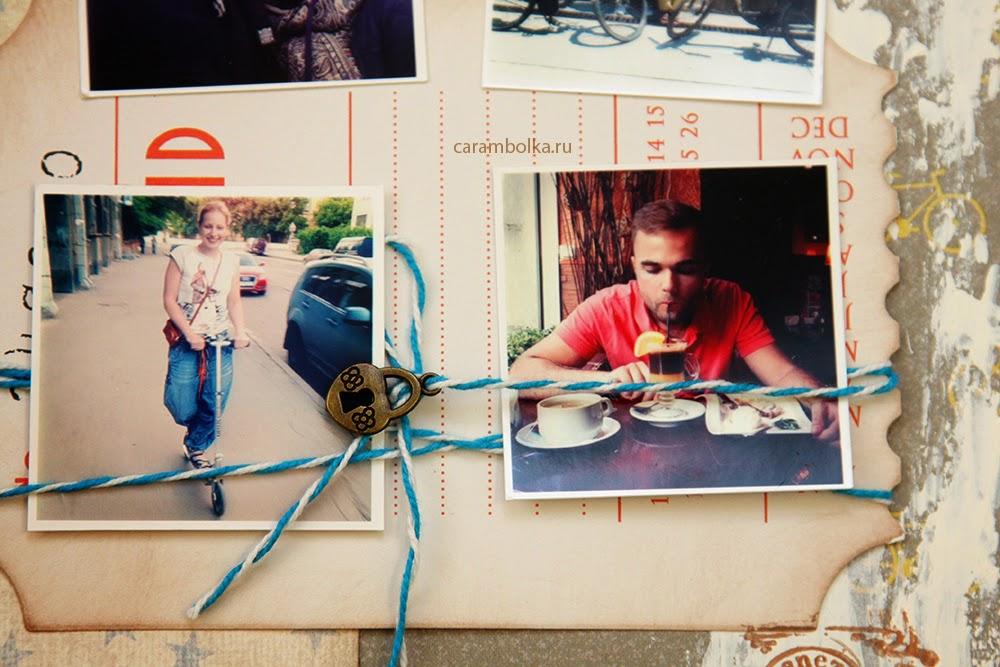 Альбом ручной работы. Фотоальбом и альбом для пожеланий на свадьбу. Тема: путешествия и море. Использованы материалы из магазина Скрапбукшоп, www.scrapbookshop.ru. Автор Carambolka.