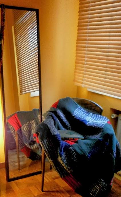 hacer una manta reciclando jerseis-