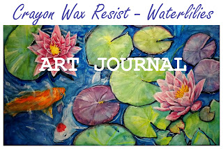 Watch video demonstration using Crayola Crayons with watercolors, here!