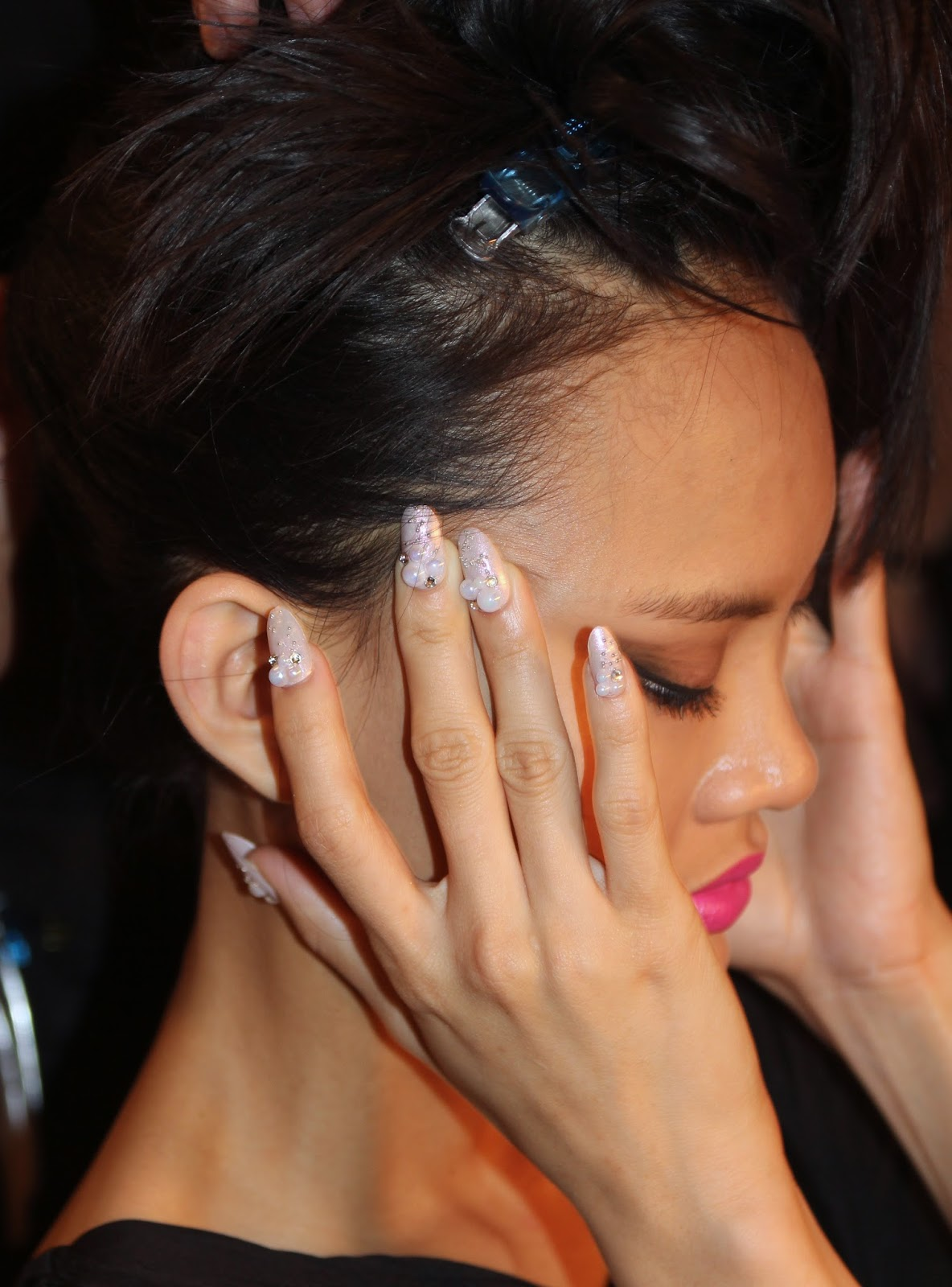 Manis…made of Pre-shaped Nails