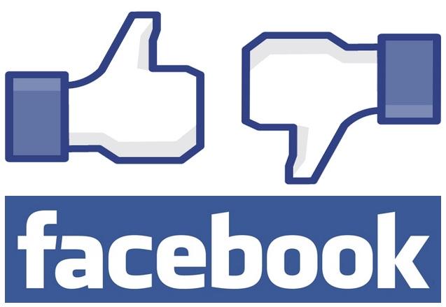 facebook botao curti nao curti