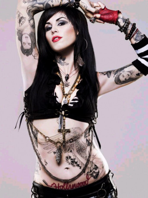 high on lollypops visual icon kat von d