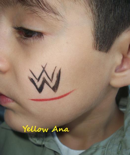 El Rincon de Yellow Ana: Pintacaritas