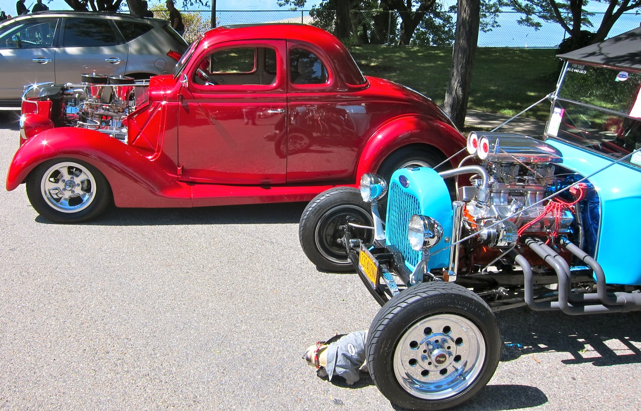 RODS CUSTOMS WILD ON THE NYC WATERFRONT Automotive Education - Classic car show nyc