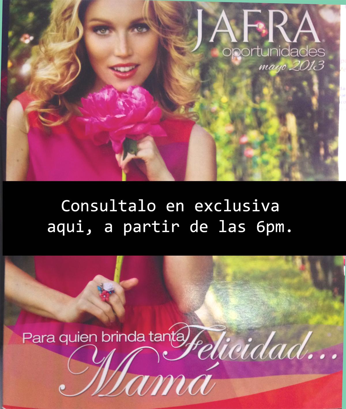 Jafra M Xico Folleto Oportunidades Nuevo Cat Logo Jafra