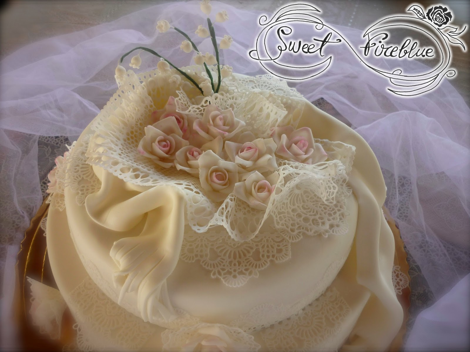 Tantissimi Auguri Matrimonio : Sweet fireblue torta ° di matrimonio