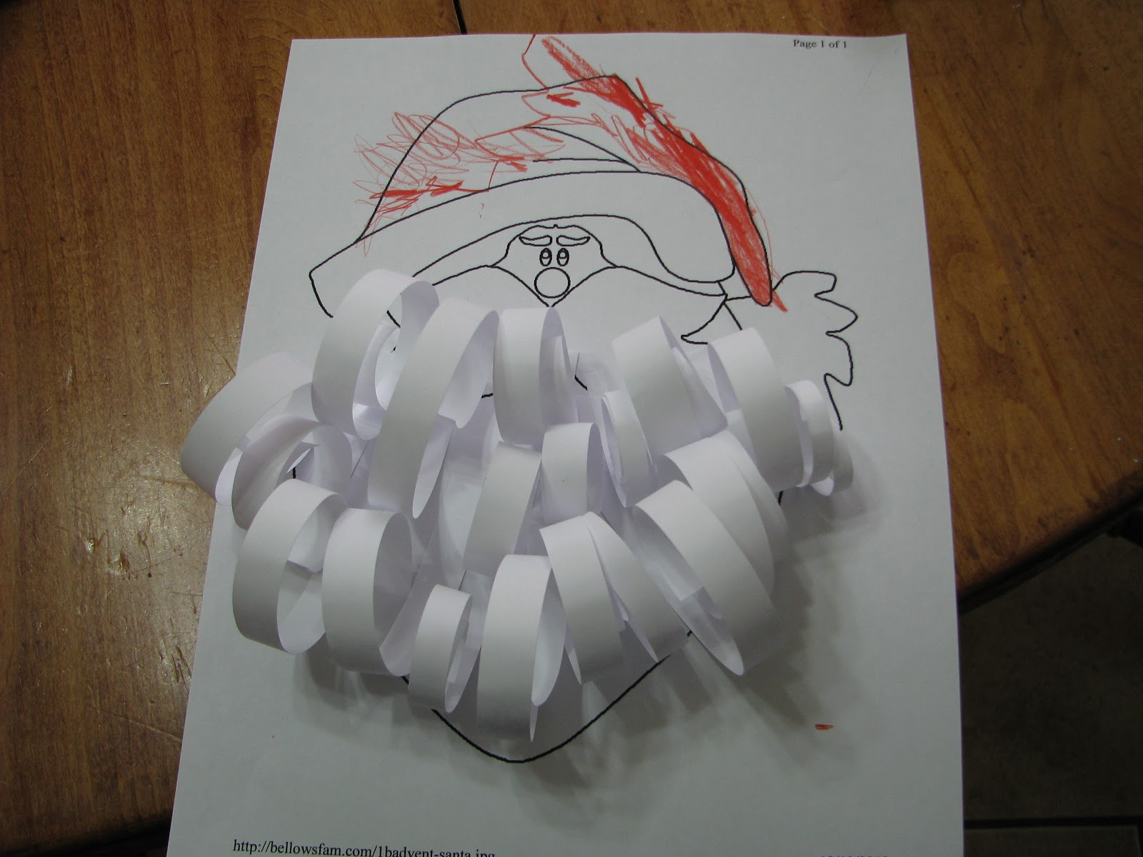 Santa Claus Beard Cut Out Images & Pictures - Becuo