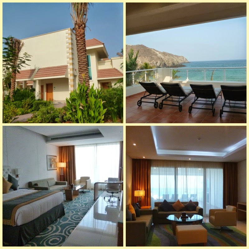 Villas and villets at Oceanic Khorfakkan