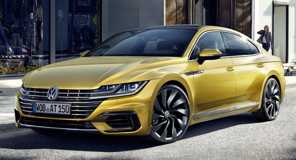 Vw starts accepting orders for new arteon four door coupe