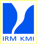 Logotipo del Instituto Real Meteorologico IRM KMI