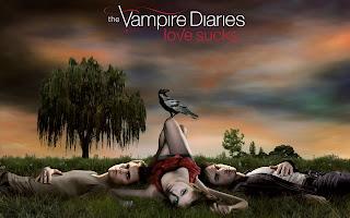 The Vampire Diaries Love Sucks Wallpaper