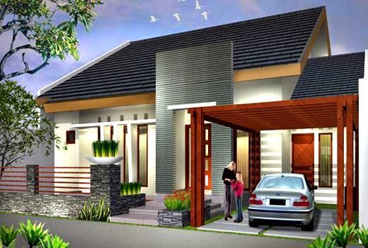 Contoh Kumpulan Desain Rumah Minimalis 1 Lantai
