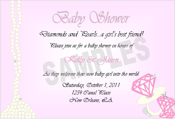 event design by kelly diamonds and pearls baby shower invitations