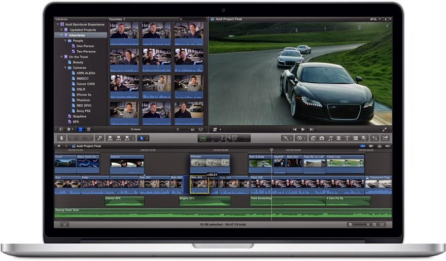 Apple Final Cut Pro X 10.1.4 incl Crack