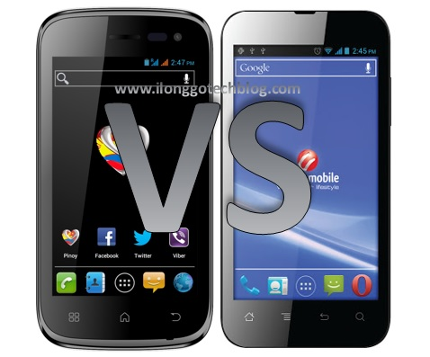 MyPhone A848i Duo vs. Cherry Mobile Flare: Specs Fight! | Ilonggo Tech