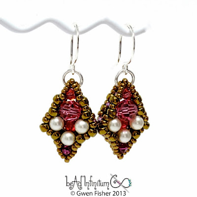Iris Drop Earrings