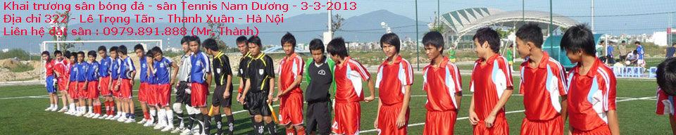 Cho thuê sân bóng đá - sân Tennis | Hà Nội