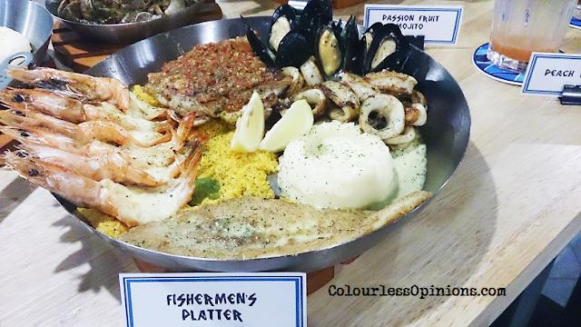 Fish & Co Malaysia Fishermen's Platter