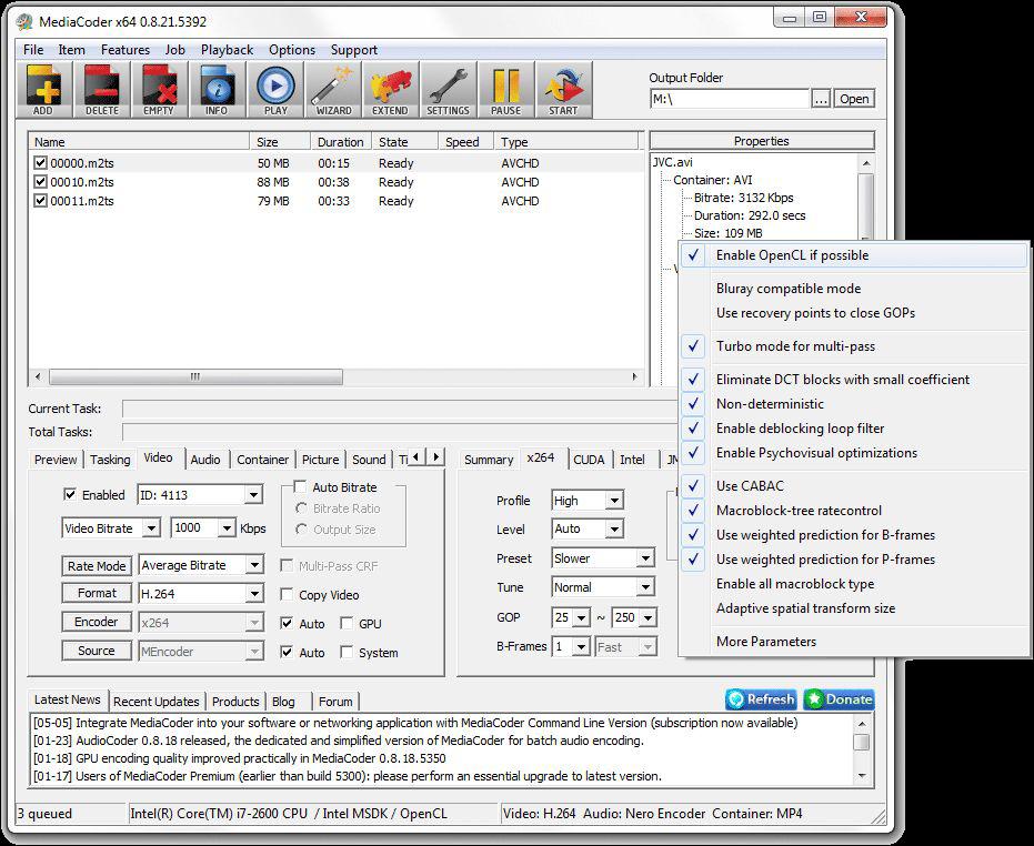 mediacoder premium vod edition plus