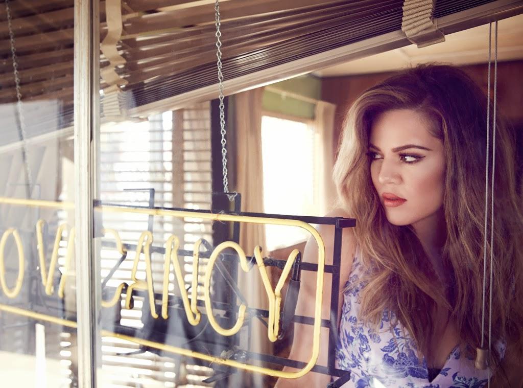 Magazine Photoshoot : Khloe Kardashian Photoshot For James White Cosmopolitan Magazine UK February 2014 Issue