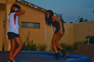 trampoline, dark girls are hot, hot black girls, pretty black girls, ethnic, south africa, midrand, girls trampoline, 2011
