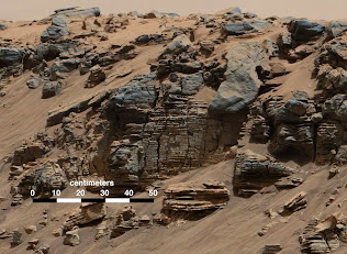 MARS ROVER VISITS THE LAKE