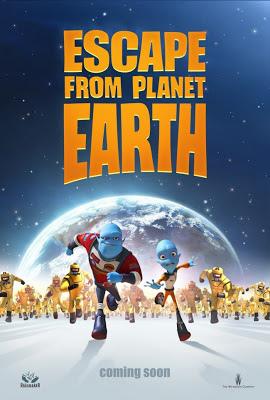 A Fuga do Planeta Terra Dublado