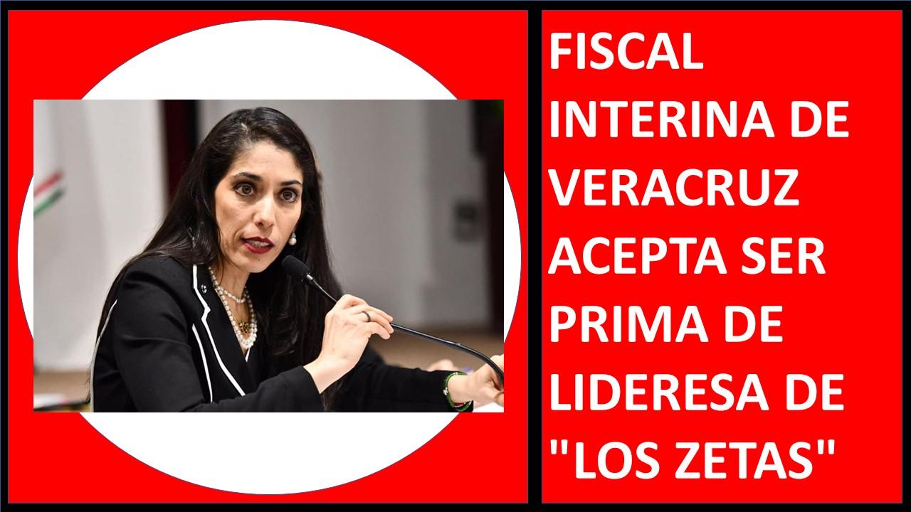 """PRIMA DE LIDERESA DE """"LOS ZETAS"""""""
