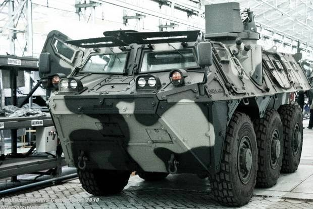 TNI Terima Tambahan 24 Panser Anoa Dari PT Pindad