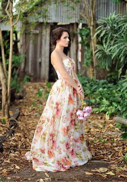 Floral Design Wedding Dresses