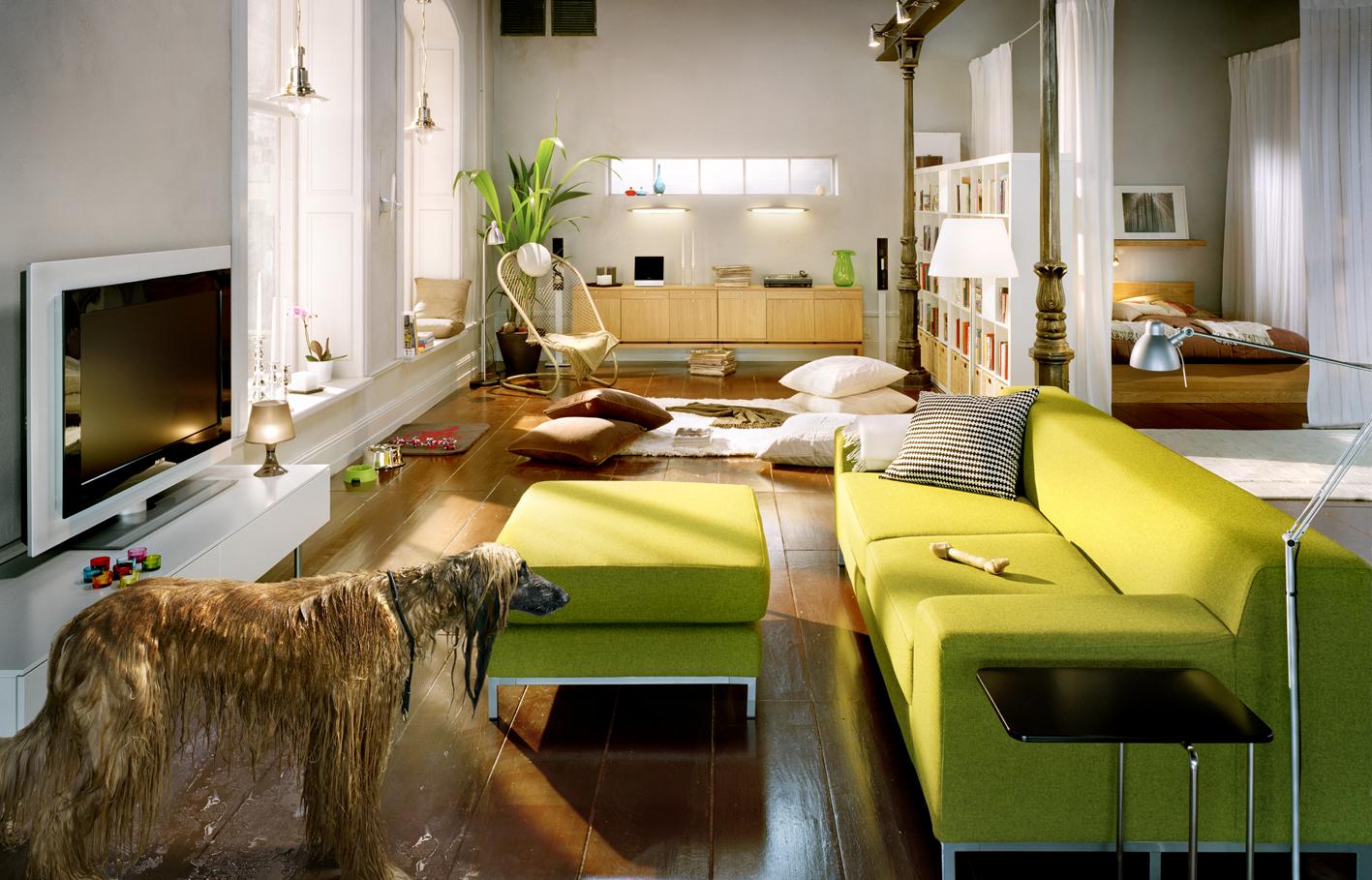 Sala De Estar Funcional ~  de espaços, utilizando também ao máximo o recurso natural de luz